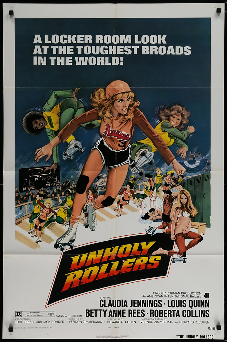Unholy Rollers - US 1 Sheet