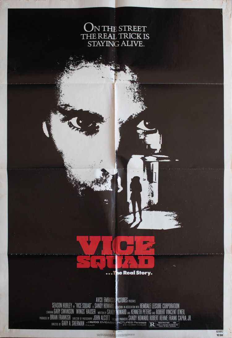 Vice Squad US 1 SHEET