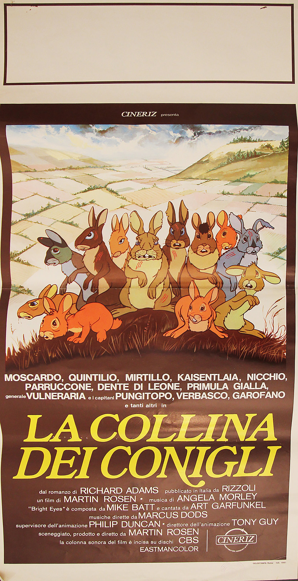 Watership Down - Italian Locandina