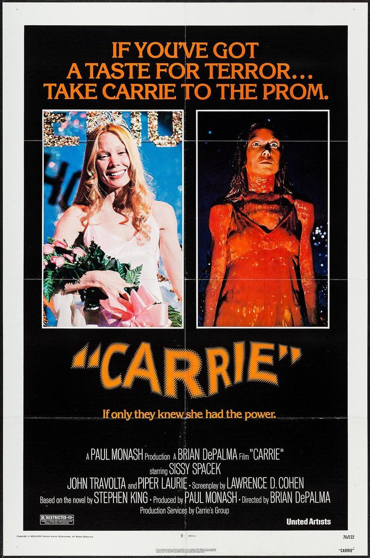 Carrie US - 1 SHEET