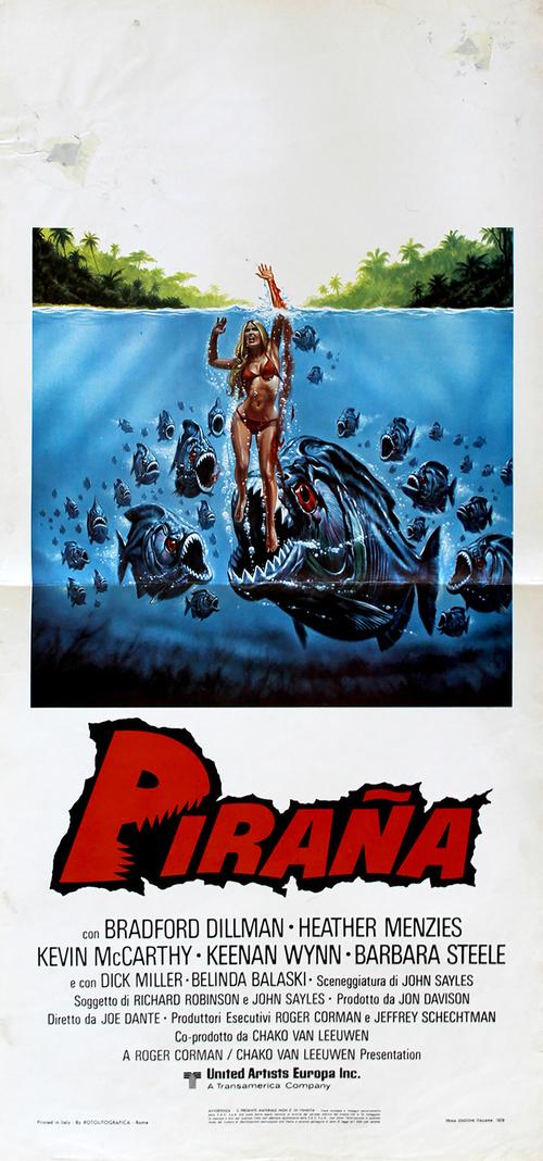 Piranha - LOCANDINA