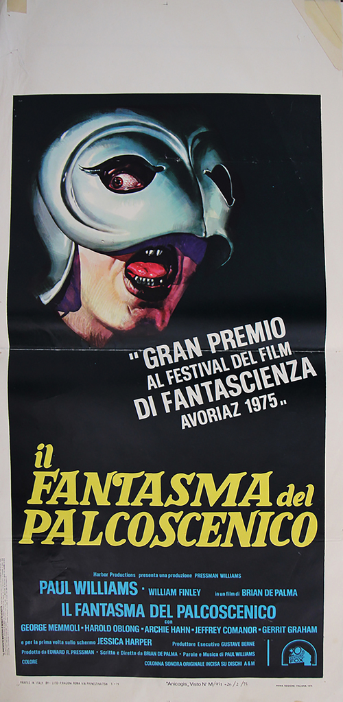 Phantom of the Paradise - Italian Locandina