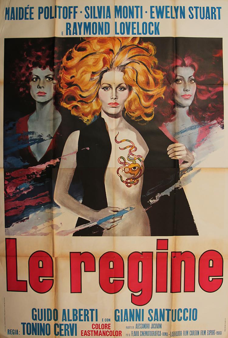 Queens of Evil - Italian 4F Manifesto