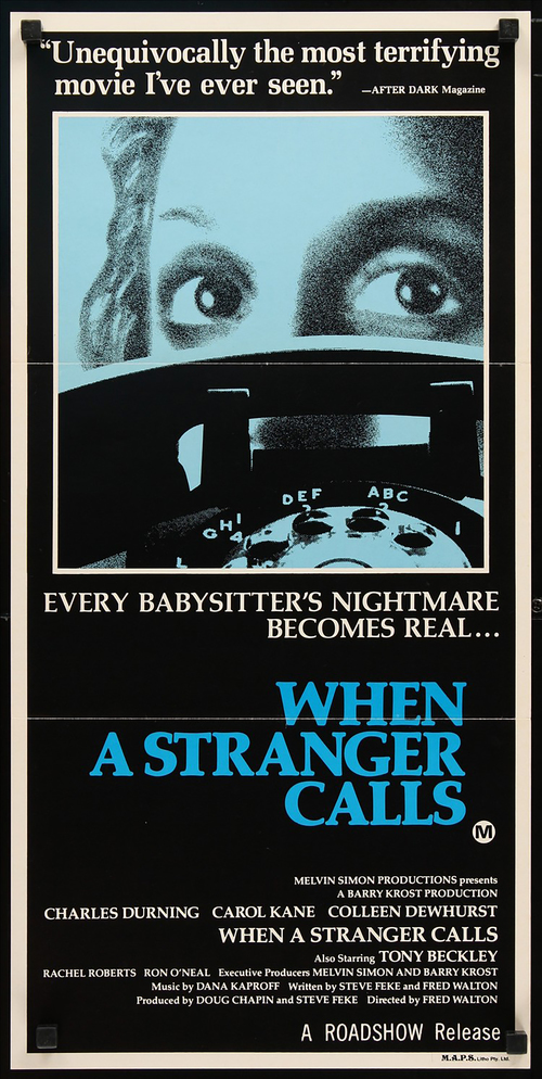 When A Stranger Calls - AUSTRALIAN DAYBILL