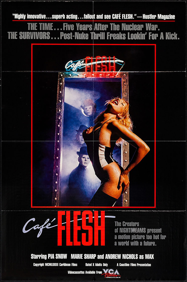 Cafe Flesh - US 1 Sheet