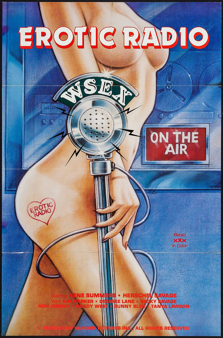 Erotic Radio WSEX - US 1 Sheet