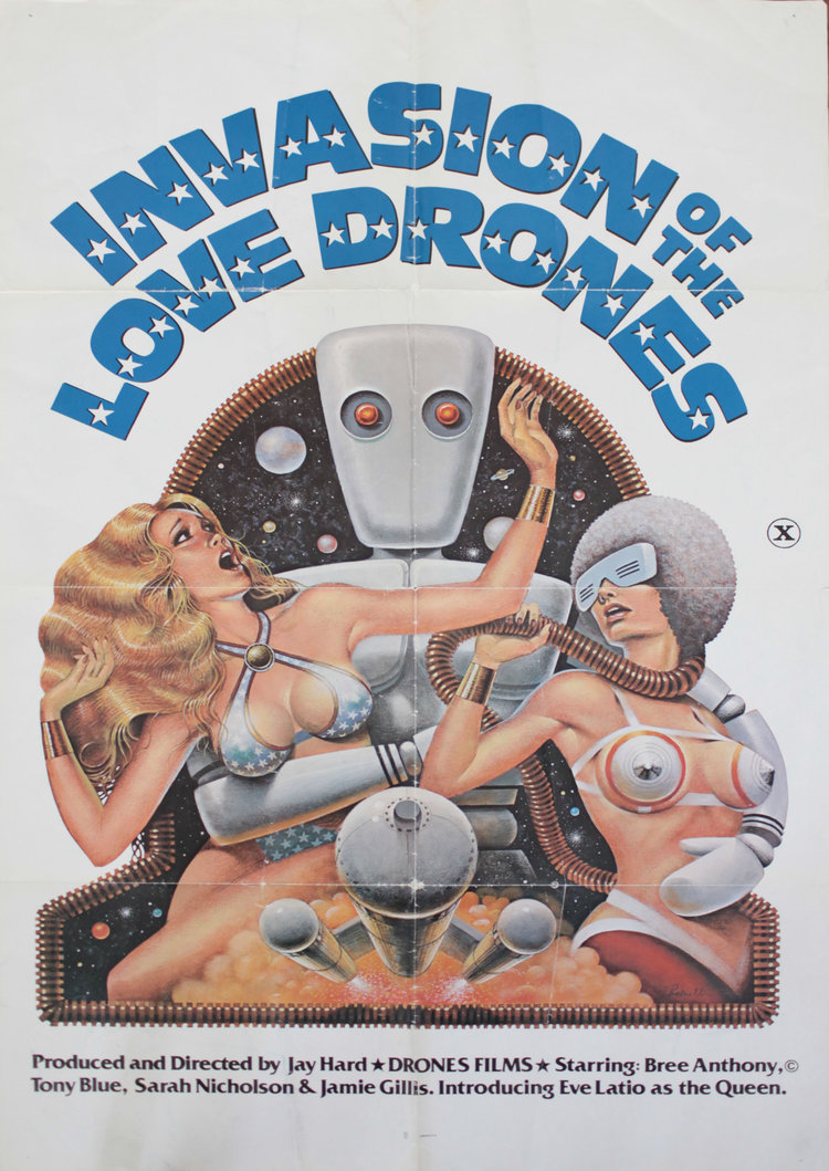 Invasion of the Love Drones - US 1 Sheet