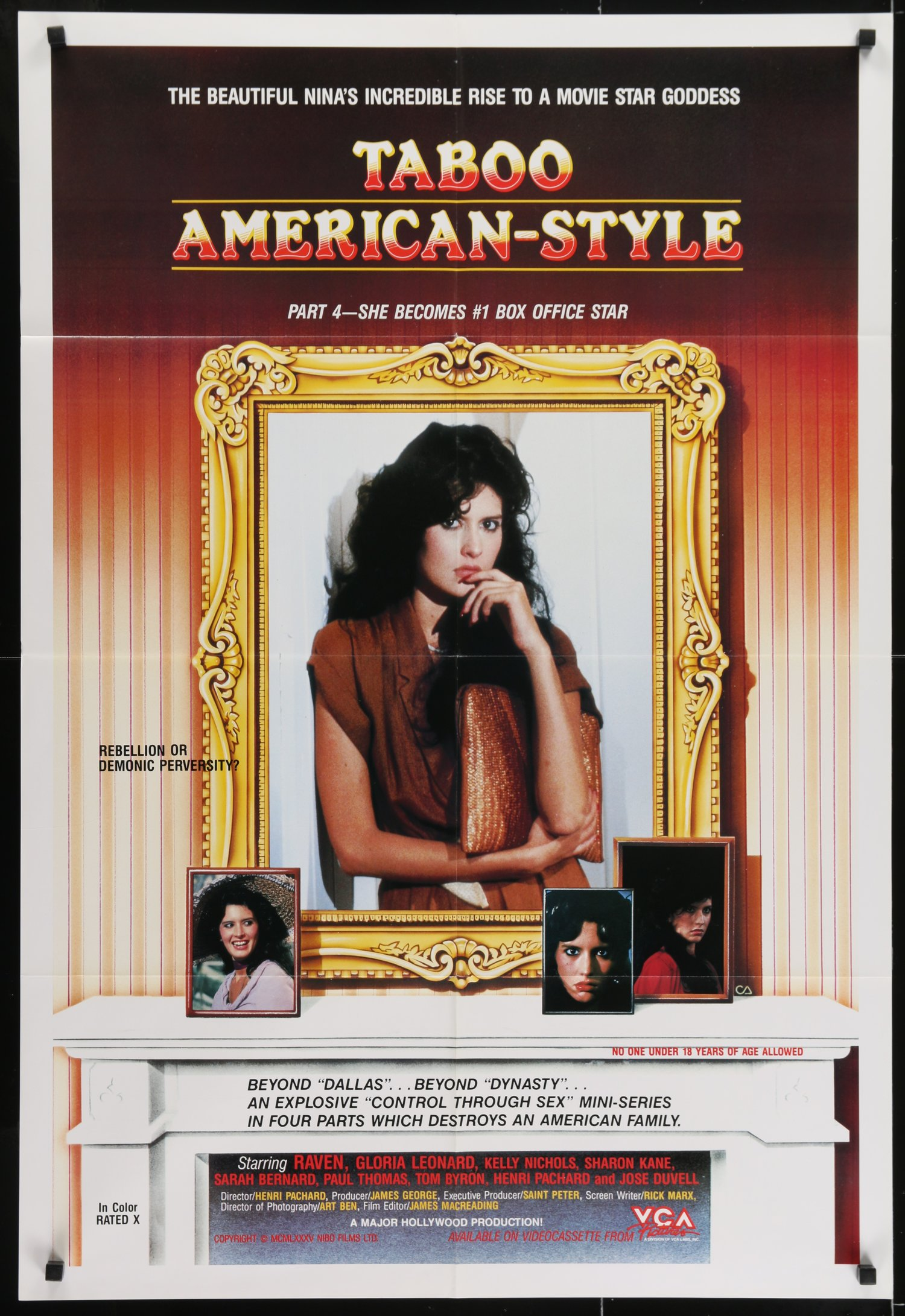 American Taboo Movie taboo american-style part 4: she becomes #1 box office star — westgate  gallery
