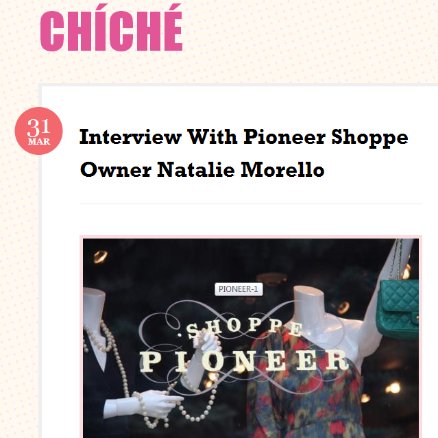 Interview with Chiche.  March, 2012