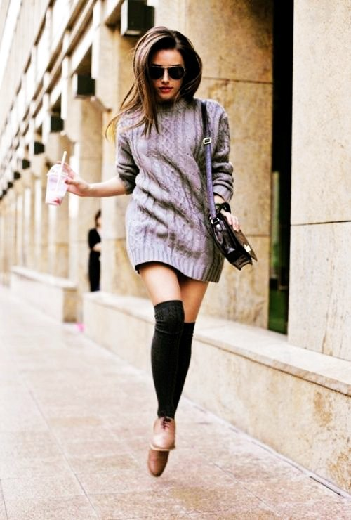 long sleeve cable knit sweater dress - short cable knit sweater dress-f48900.jpg