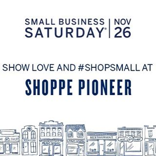 ❤️❤️❤️❤️. Today is the day. Come shop small with us!