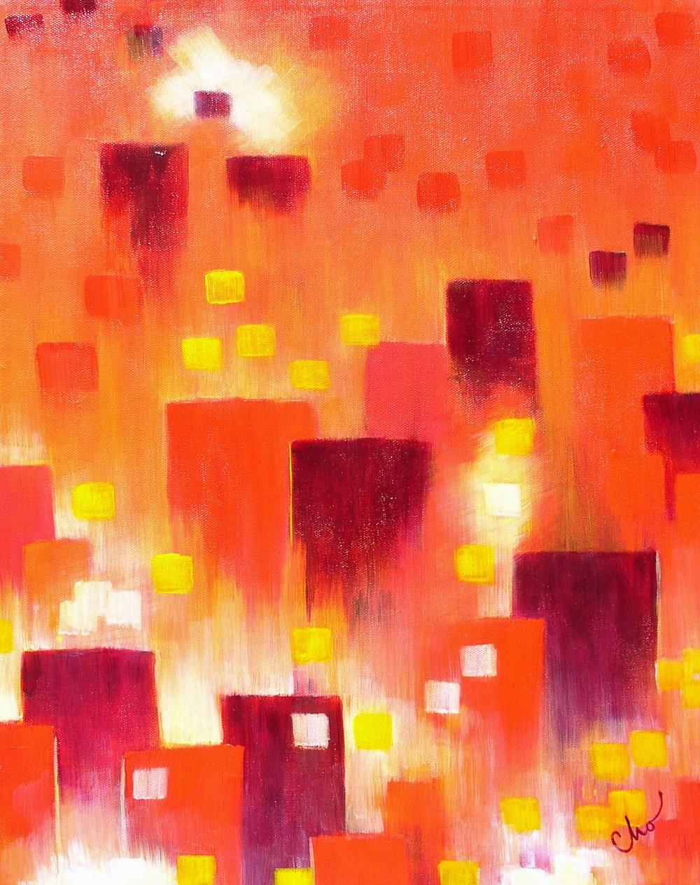 Cityscape--20x16 Sept 2010