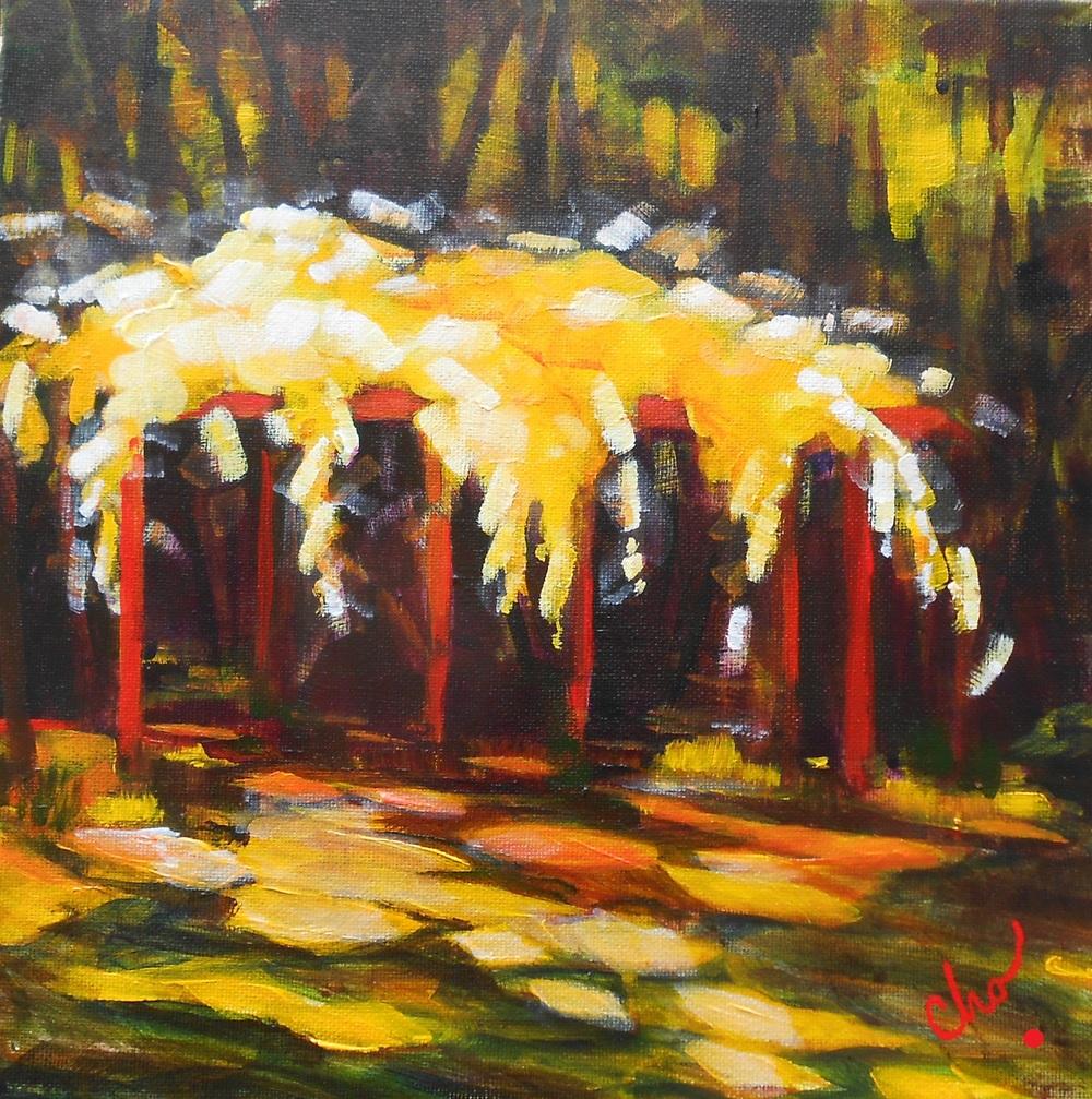 Rose Pergola (study)--12x12 August 2012