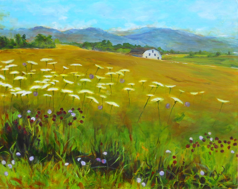 Shenandoah Valley 24x30 August 2014