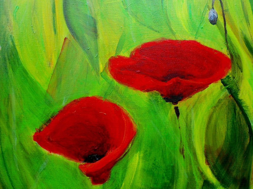 Poppy Field (Canton, NC) 40x30 May 2014 (detail1).JPG