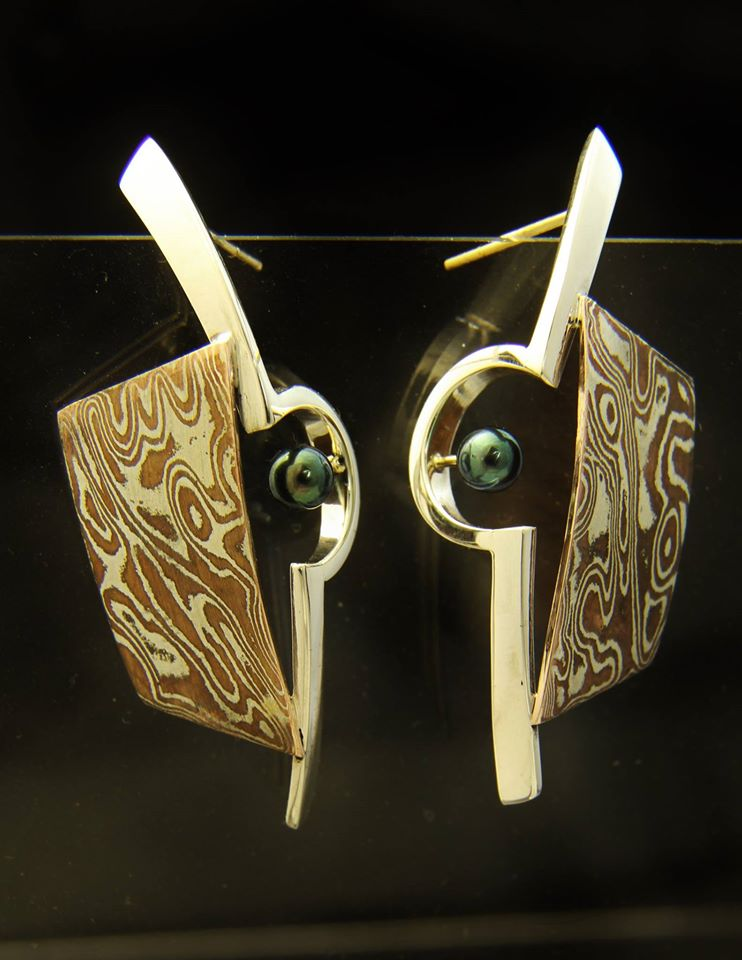 mokume pearl earrings.jpg