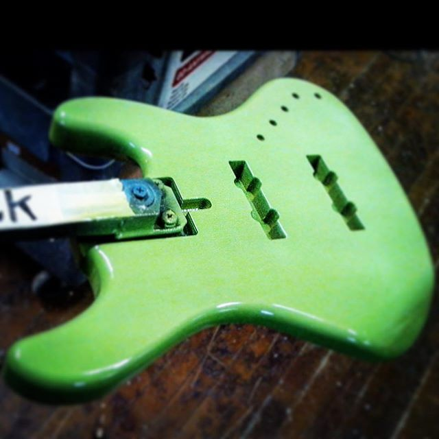 "The painter (total pro who does some of the most killing work in the biz) likes to name the freak basses I sub out.  This one is ""Kermit's Dick."" I normally wouldn't provide text of that nature, but if the major news outlets can use vulgar language..."