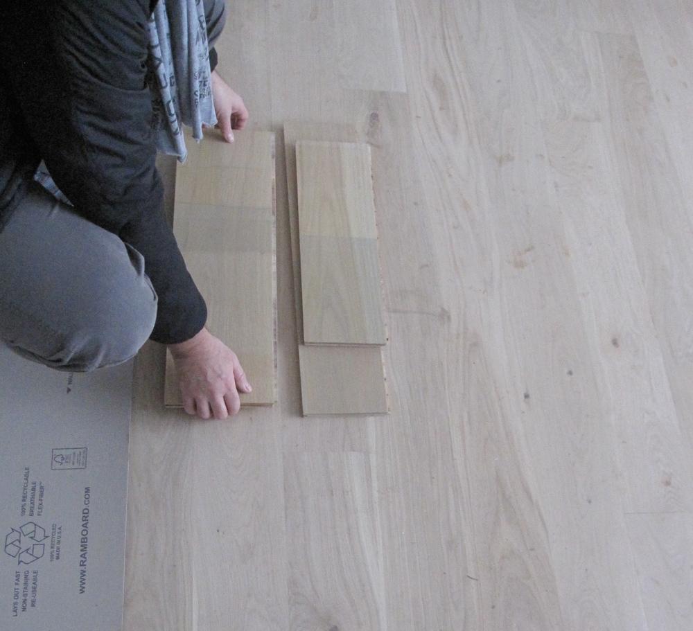 Selecting Finish & Stain for Oak Floors