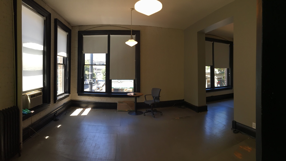 """""""Before"""" Image of our new office located in Seattle's Pioneer Square"""
