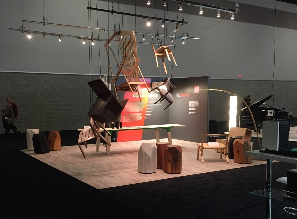 Furniture Society Booth at 2017 IDS Vancouve