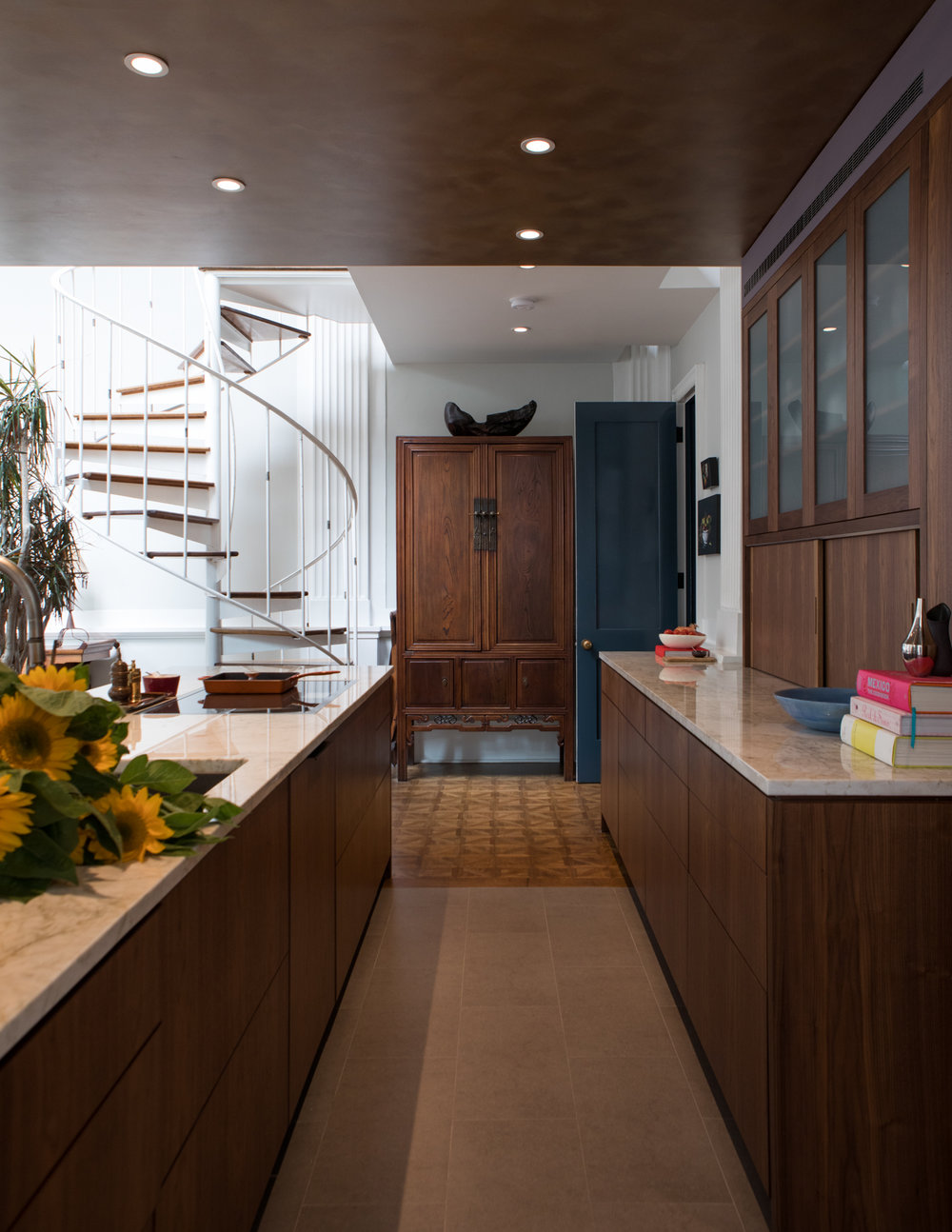 Kitchen East - Setting new finishes into historic context