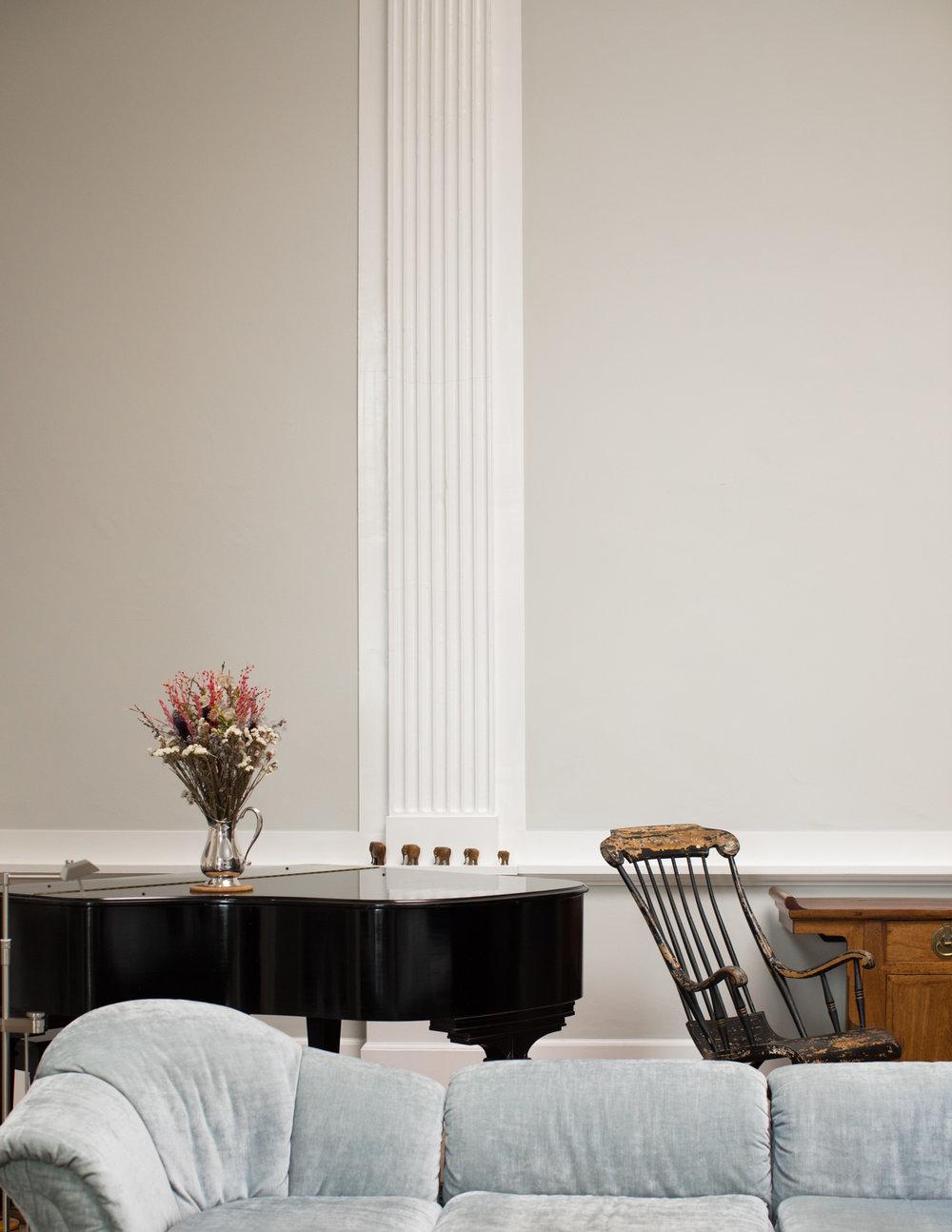 Piano Alcove in Recital Hall