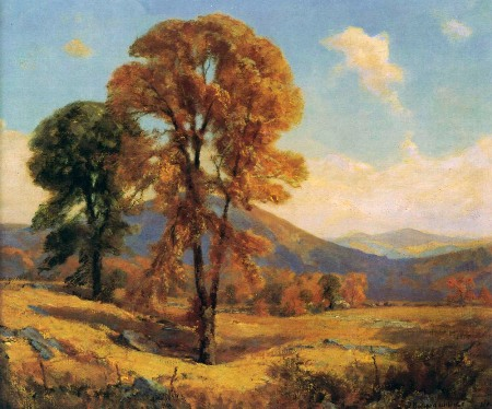 Frederick Ballard Williams (1871-1956) Burke Mountain, Vermont, no date Museum purchase from the artist, funded by A.Alex Shuford Jr, 1944.1