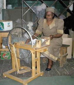 Lesotho spinning 2011.jpg