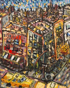 Sense of Community, 2012  oil on canvas  Gift of the artist, 2013.22