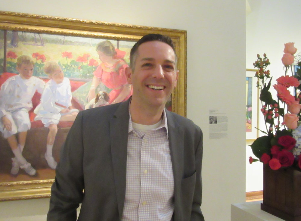 Jon Carfagno has been named the museum's new Executive Director