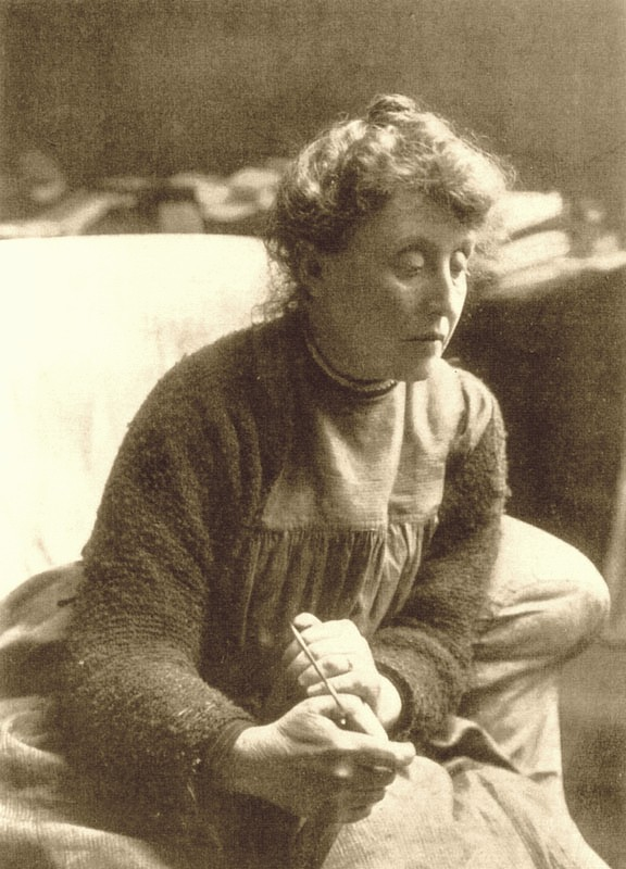Evelyn Pickering De Morgan around 1900.