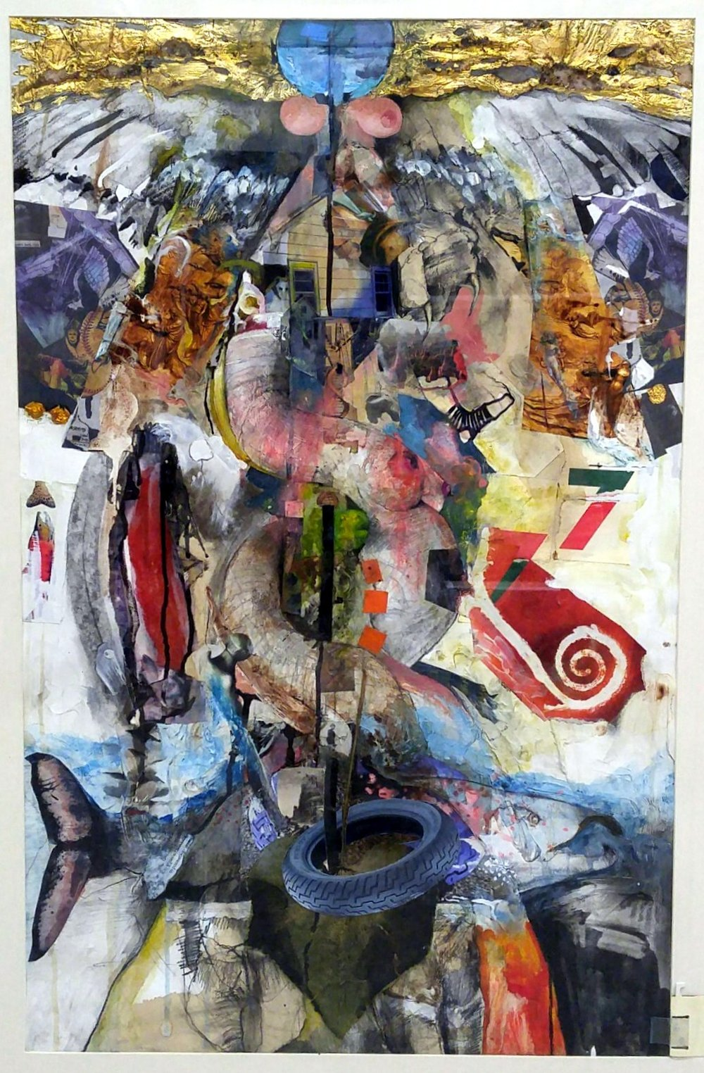 Dan Smith collage Caduce U.S. Birdhouse.jpg