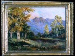 Laura Lee Baker     Wilfong    (1905-1980)   Landscape   , 1954   oil on canvas
