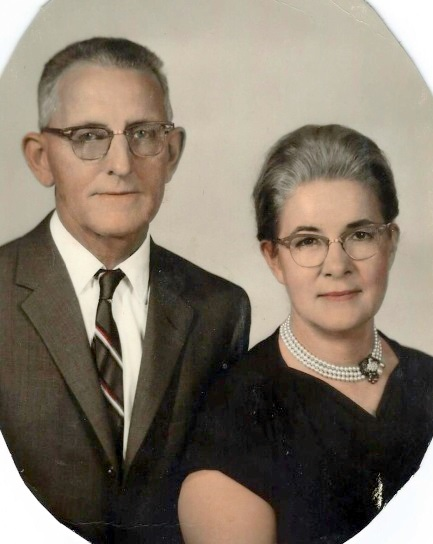 Laura Lee and Bryan Wilfong in 1967.
