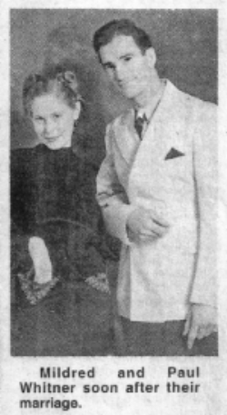 Paul and Mickey shortly after their 1936 wedding. (From a July 2, 2002 interview with Mickey in the  Yancey   Common Times Journal .)