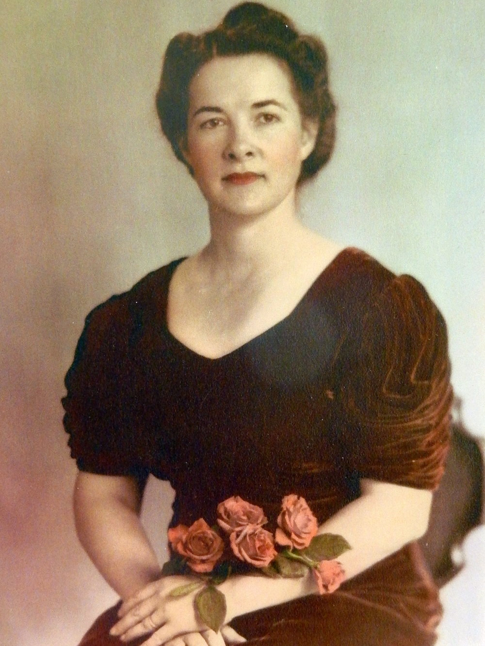 Laura Lee Wilfong in 1945