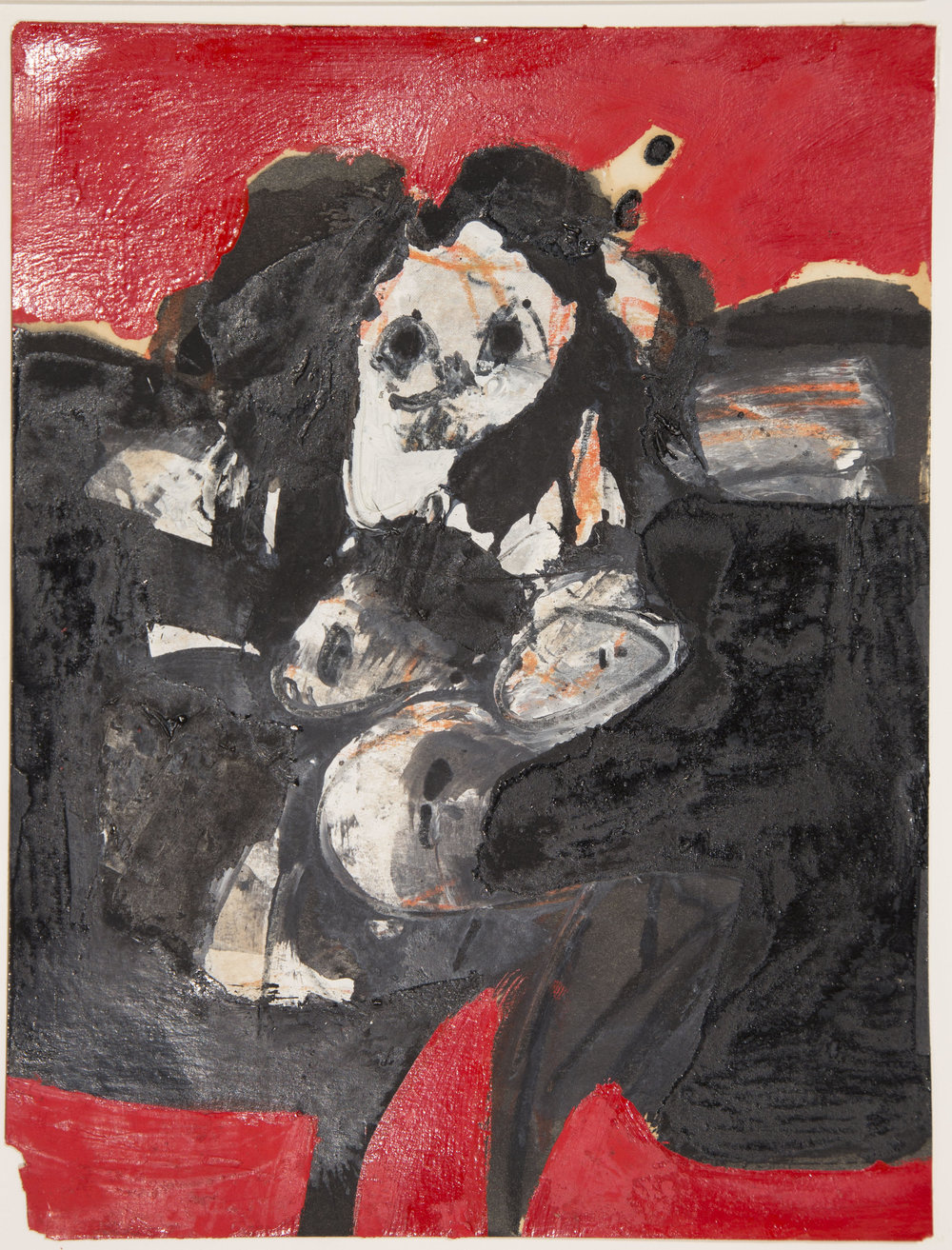 Willem de Kooning (1904-1997)  Untitled , no date mixed media on paper Gift of Barbara & Peter Falotico, 2013.18