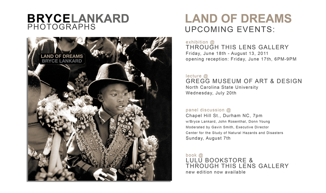 """Land of Dreams"" events in Raleigh/Durham NC"