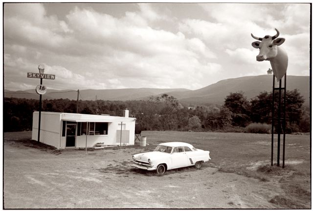 Skyview, Waynesville, VA. One of the very first images taken on my first American road trip.