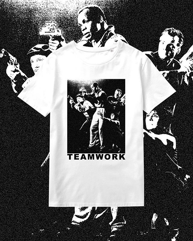 """TEAMWORK"" everpress.com/teamwork 21 days... #design #clothing #tshirt #graphic #graphicdesign #graphics #shirt #print #everpress #DannyGlover #team #work #teamwork #aesthetic #apperal #visual #love #life #designs #marchbank"