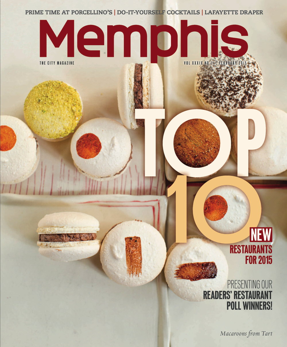 Memphis Magazine, February 2015.  Photo credit: Justin Fox Burks