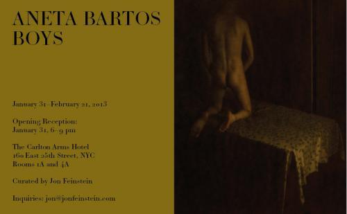 Aneta Bartos: Boys Carlton Arms Hotel New York, NY February, 2013