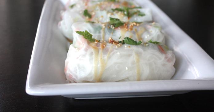 Vegetarian Spring Rolls With Shredded Kohlrabi — Kristi ...