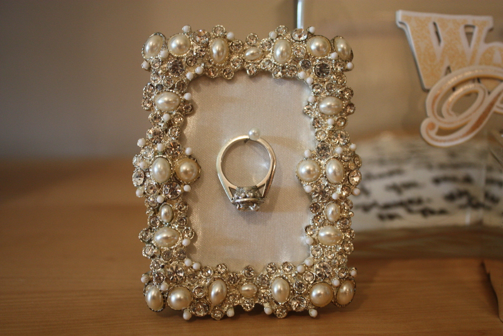 Fab Display for an Engagement Ring
