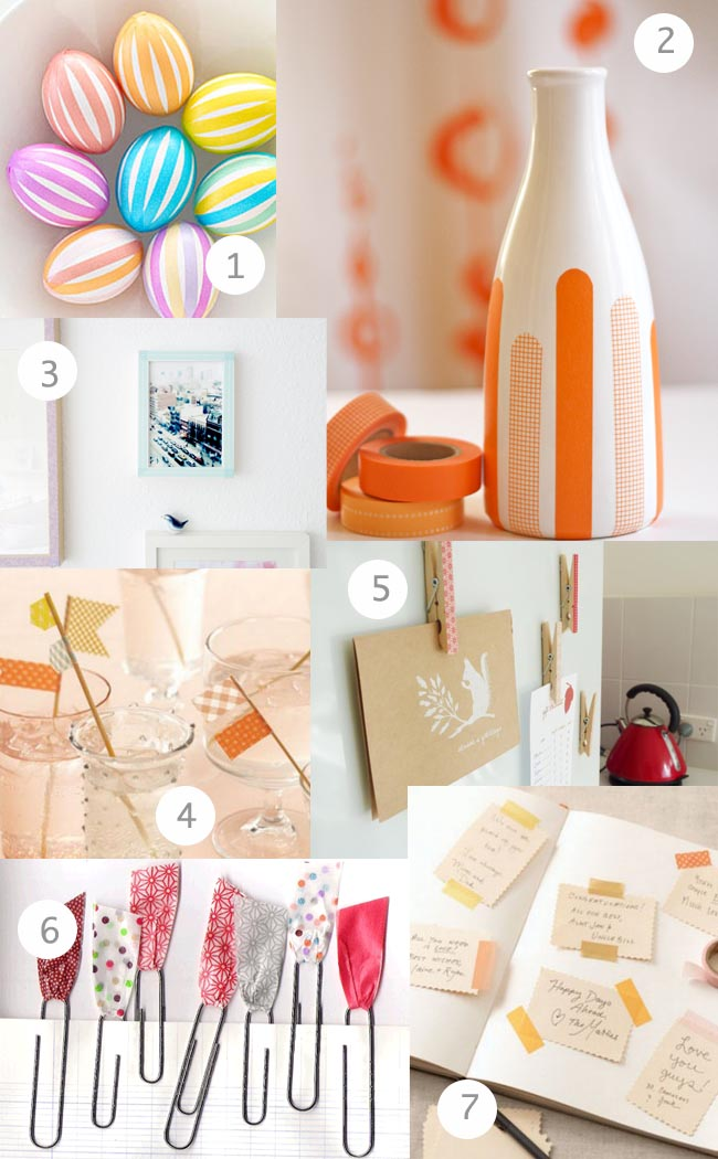 Washi Tape Inspiration Board