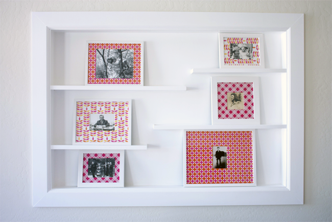 DIY Custom Matted Frame Gallery — Kristi Murphy | DIY Blog