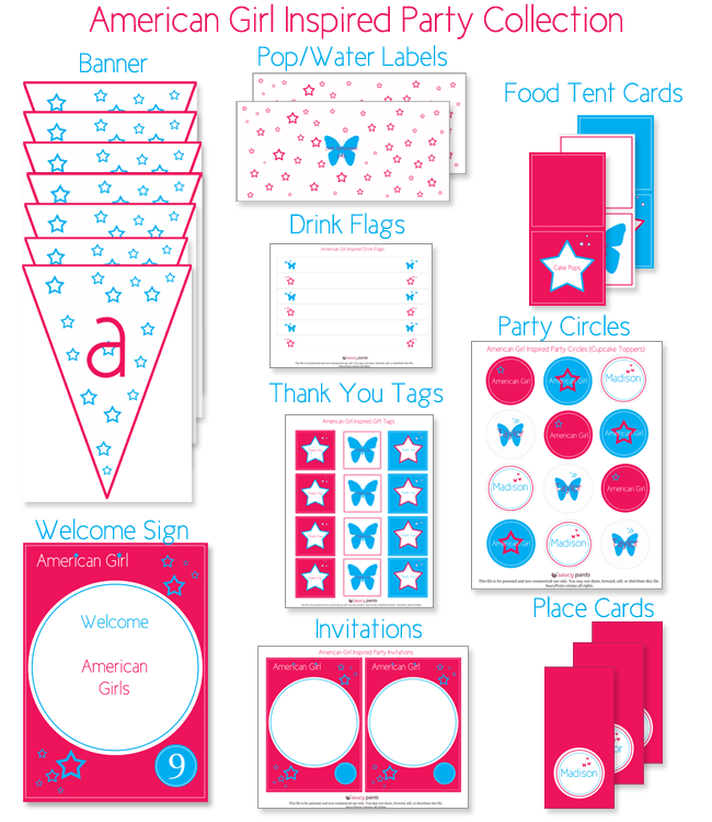 Effortless image regarding american girl ideas printable