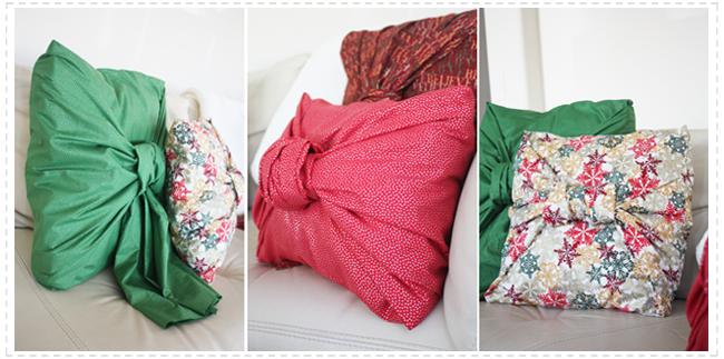 No Sew Christmas Pillows: No Sew Instant Christmas Pillows — Kristi Murphy   DIY Blog,