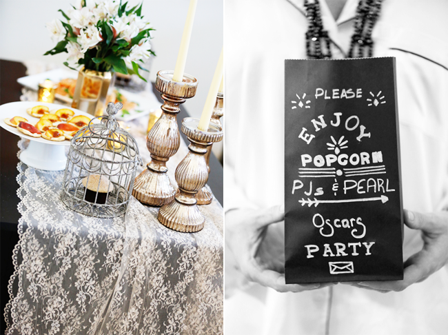 PJs and Pearls Oscars Party for Lauren Conrad Kristi Murphy DIY Blog