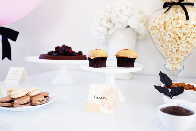Oscars Party Dessert Table